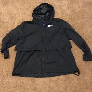 Nike Full Zip Windbreaker - Women's XXL